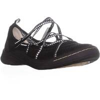 JSport by Jambu Sideline Encore Sport Flats, Black/White