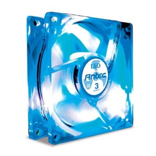 Antec 0-761345-75024-0 TriCool 120MM Blue LED PC Computer Case Fan NEW