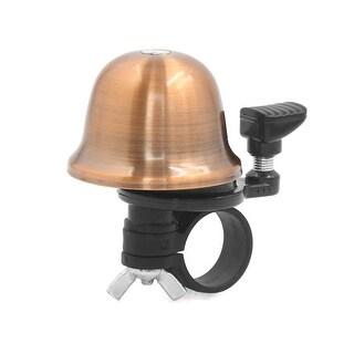 Durable Beating Mountain Bike Bicycle Bike Bell Ring w Handlebar Clamp for 2.2cm Dia. Handlebar Copper Tone