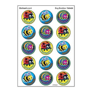Bug Buddies Stinky Stickers Large