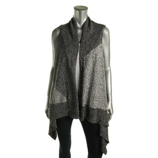 Shop Two By Vince Camuto Womens Sweater Vest Open Front Drapey