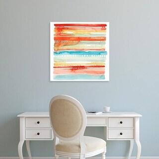 Easy Art Prints Grace Popp's 'Connected Lines I' Premium Canvas Art