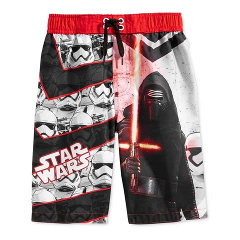 Star Wars Boys Dark Side Swim Bottom Board Shorts - 4