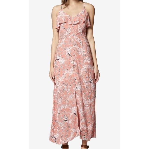 4224a99036de0 Sanctuary Pink Women's Size Small S Floral Ruffled Maxi Dress