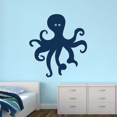 Octopus Wall Decal (11 x 12)