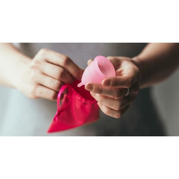 Ovu - 2 Feminine Silicone Menstrual Cups - N/A