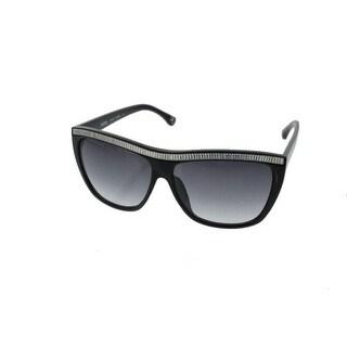 Michael Kors Womens Miranda Crystal Brow Designer Square Sunglasses - o/s