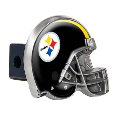 Great American Products Pittsburgh Steelers Helmet Trailer Hitch Cover Helmet Trailer Hitch Cover