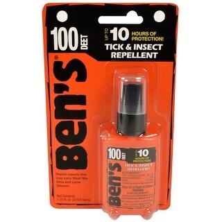 Ben's 100 DEET 10 Hour Tick and Insect Repellent Spray - 1.25 oz.