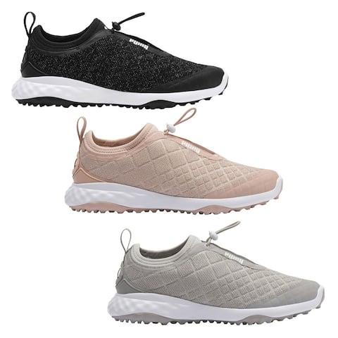 PUMA Women Brea Fusion Sport Spikeless Golf Shoes