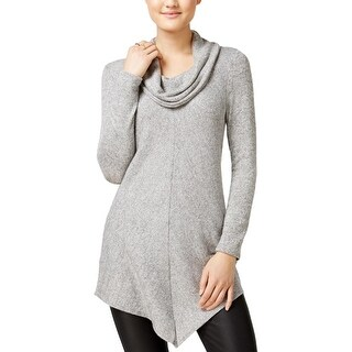 BCX Womens Juniors Sweater Heathered Mixed Media (2 options available)