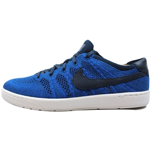 Nike Men's Tennis Classic Ultra Flyknit College Navy/College Navy-Racer Blue-White 830704-401