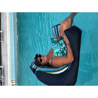 Shop Big Joe Captains Pool Float Cool Cozumel Stripe