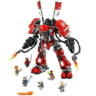 LEGO Ninjago Movie 944-Piece Fire Mech Construction Set - Multi