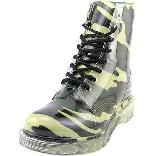 Dirty Laundry Rendition Women  Round Toe Synthetic Green Rain Boot