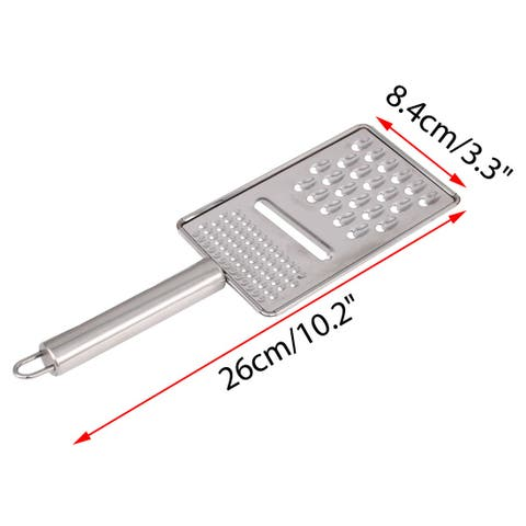 Stainless Steel Cheese Grater Multifunction Vegetable Grater for Kitchen, 2pcs