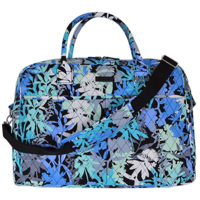 Shop Vera Bradley Camofloral Floral Cotton Weekender Duffle Travel