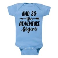 And So The Adventure Begins  - Infant One Piece