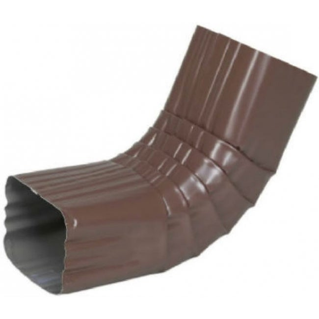 Amerimax 2526419 Aluminum Front Elbow Style A, 2 x 3, Brown