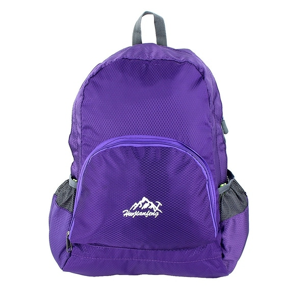HWJIANFENG Authorized Camping Cycling Foldable Bag Sports Backpack Purple 20L