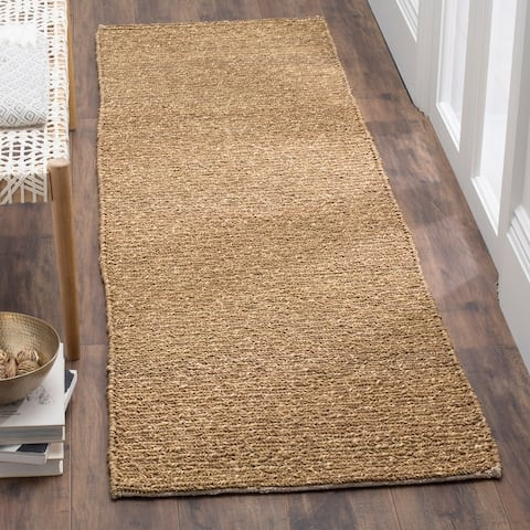 Safavieh Handmade Natural Fiber Mukta Seagrass/ Cotton Rug