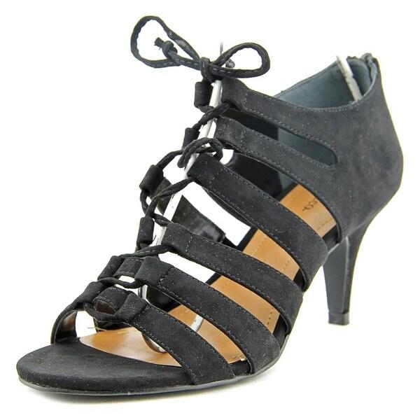 Style & Co Hannde Women Black Sandals