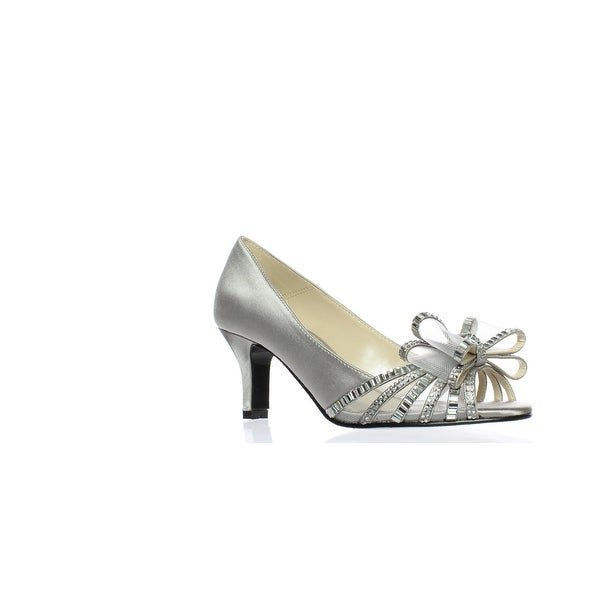 ee185b75b6 Shop Caparros Womens Diandra Silver Peep Toe Heels Size 5.5 - On ...