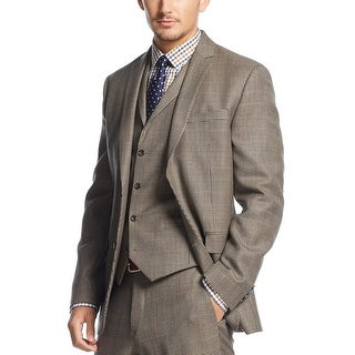 Bar III Carnaby Collection Slim Fit Houndstooth Sportcoat Blazer 36 Short 36S