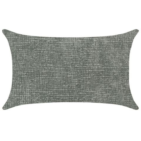"Rodeo Home Kimia Textured Chenille Lumbar Pillow 16""x26"""