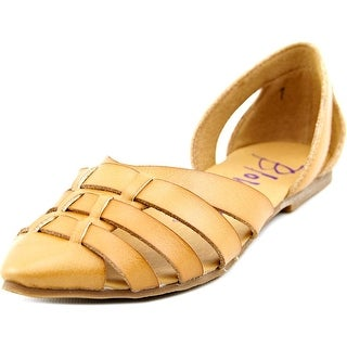 Blowfish Zeal Women Pointed Toe Synthetic Tan Flats