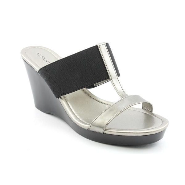 Alfani Journey Women Open Toe Synthetic Wedge Sandal