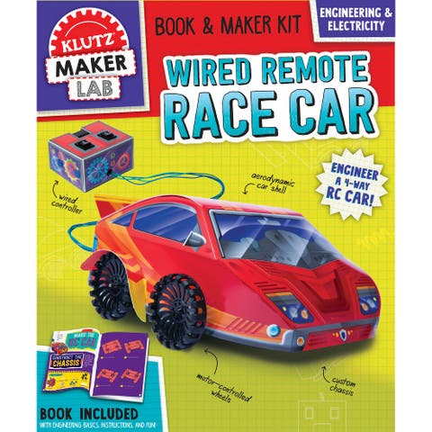 Wired Remote Race Car-