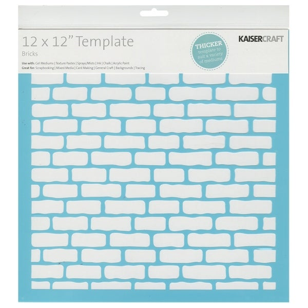 "Template 12""X12""-Bricks"