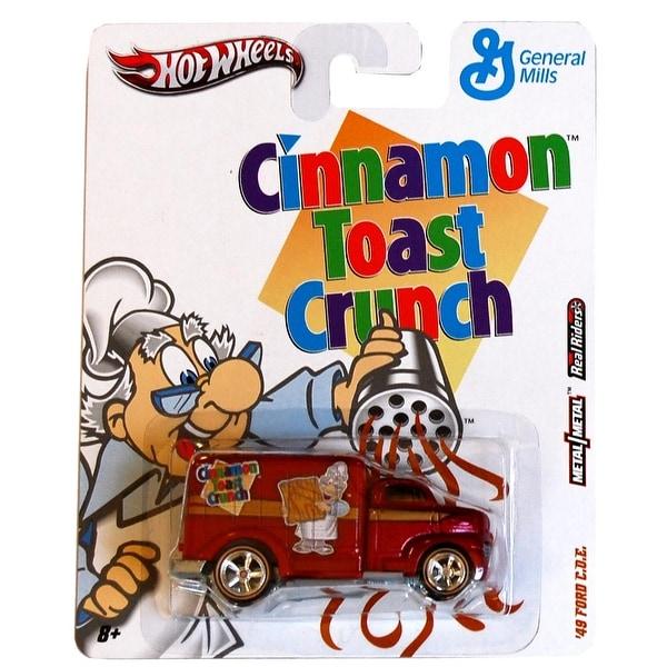 Hot Wheels Nostalgia Cars Cinnamon Toast Crunch 49 Ford COE - Multi