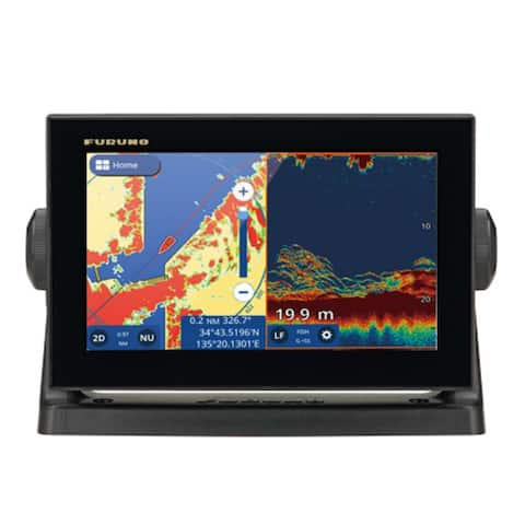 Furuno GP1971F GPS with 9 Inch Wide Color Multi Touch LCD Display