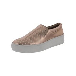 Steve Madden Womens Bristal Fashion Sneakers Metallic Chevron