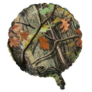 Pack of 10 Hunting Camo Metallic Foil Party Balloons