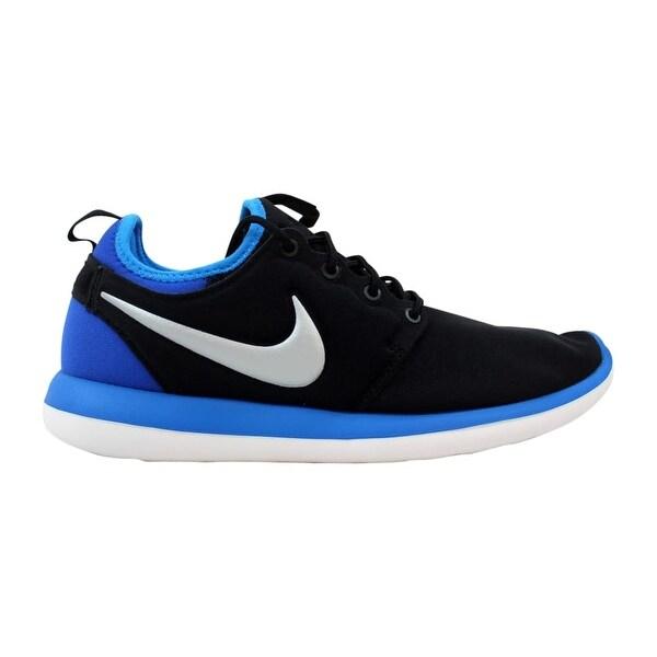 competitive price 6d03e 41cd7 Nike Roshe Two 2 Black Metallic Platinum-Photo Blue 844653-002 Grade-