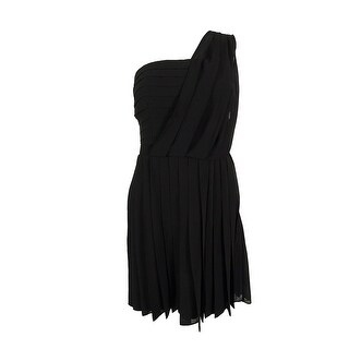 RACHEL Rachel Roy Women's One Shoulder Pleated Dress
