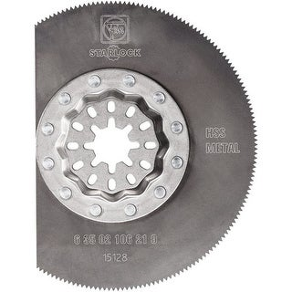 Fein 63502106210 Starlock High Speed Steel Segment Saw Blade, 3-3/8""