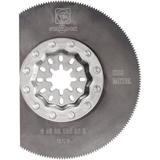"Fein 63502106210 Starlock High Speed Steel Segment Saw Blade, 3-3/8"""