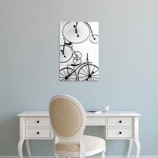 Easy Art Prints Walter Bibikow's 'Bicycle Display' Premium Canvas Art