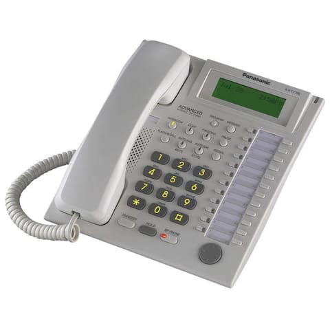 24 Button Speakerphone 3 Line Lcd White
