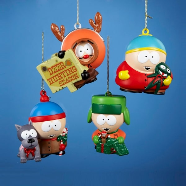 South Park Christmas.Club Pack Of 24 South Park Stan Kyle Kenny And Cartman Christmas Ornaments 3