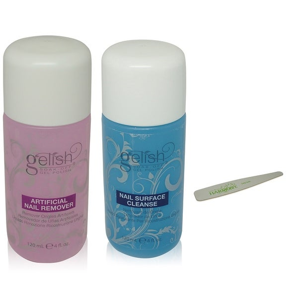 Shop Gelish - Soak Off Nail Polish Remover & Cleanser Bottles 4 Oz ...