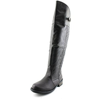 Qupid Relax-128X Women Round Toe Synthetic Knee High Boot
