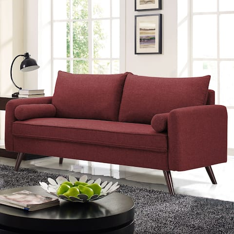 Lifestyle Solutions Cameron Sofa with Hairpin Legs