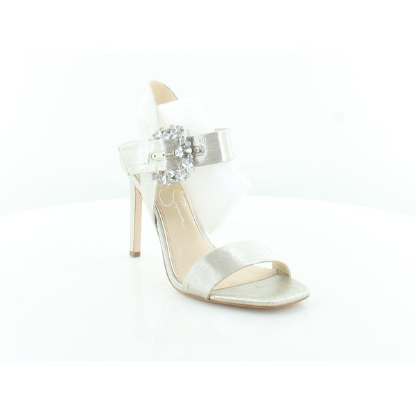 c7750190bf1f Shop Jessica Simpson Bindy Women s Heels Shimmer Silver - 6.5 - Free ...