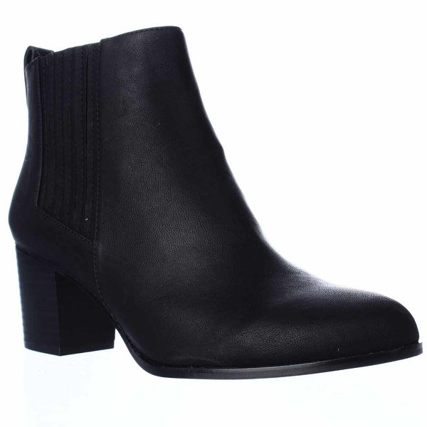 I35 Fainn Pull On Booties, Black