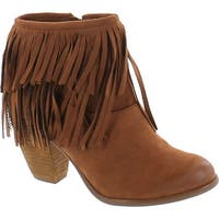 Not Rated Women's Auriga Ankle Fringe Bootie